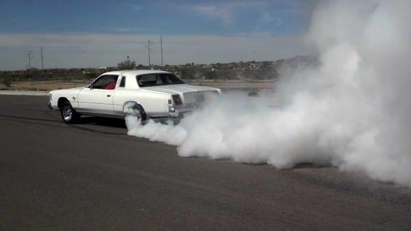 78 Chrysler Cordoba Burnout