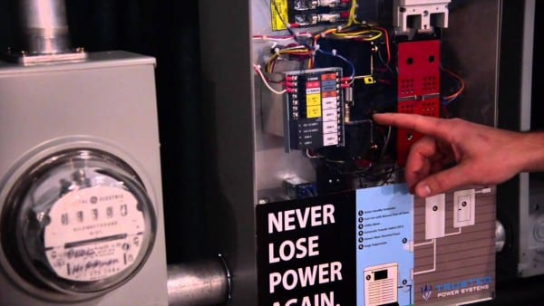 Generac Whole House Automatic Transfer Switch Demonstration
