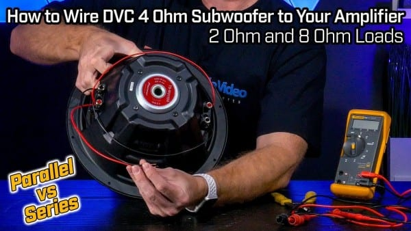 How To Wire Your Subwoofer Dvc 4 Ohm