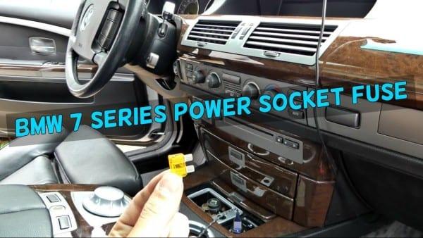 Bmw E65 E66 Cigarette Lighter Power Socket Usb Not Working Fuse