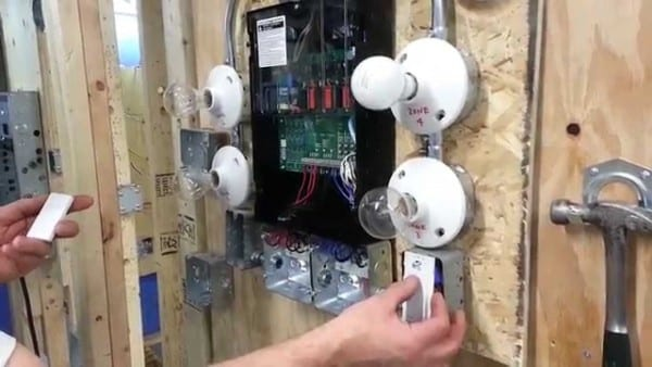 Lutron Low Voltage Switching