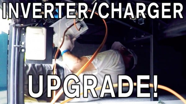 Rv Inverter Charger Upgrade