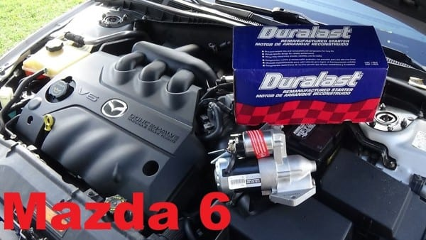 2004 3 0 V6 Mazda 6 Starter Replacement