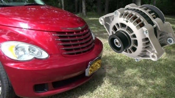 Pt Cruiser Alternator Replacement
