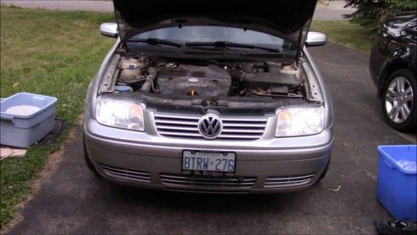 2002 Volkswagen Jetta 4000 Lumen Led Headlight Unboxing And