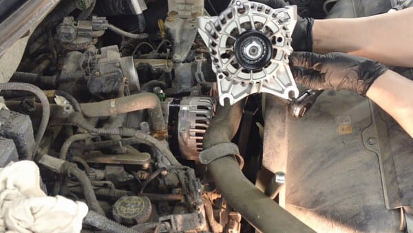 Ford 4 6l & 5 4l Engines Alternator Replacement