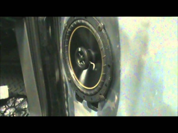 2005 Gmc Reg  Cab Speakers Install 6 5 Kickers And 4x6 Qpowers