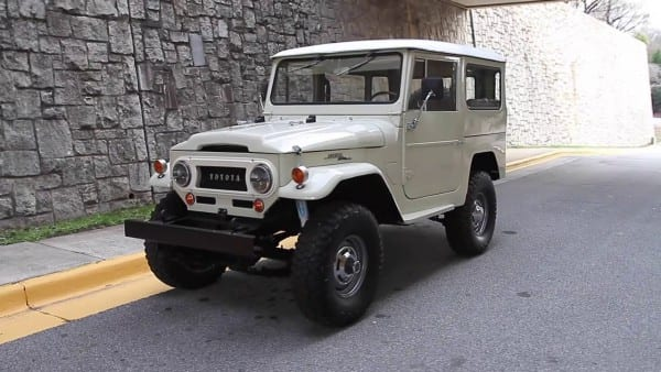 1969 Toyota Land Cruiser Fj40 For Sale