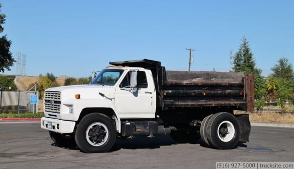 1992 Ford F700 5 Yard Dump Truck For Sale By Trucksite Com