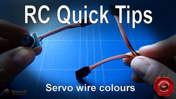 Rc Quick Tip  Understanding The Servo Wire Colours