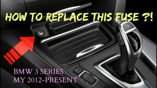 How To Replace Cig  Lighter Fuse  Bmw 3 Series My 2012