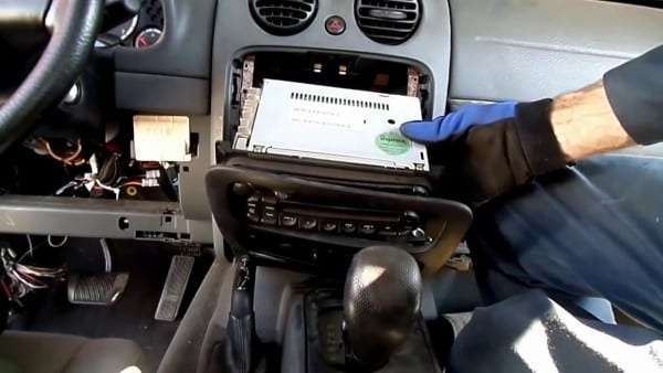 Jeep Liberty Radio Removal