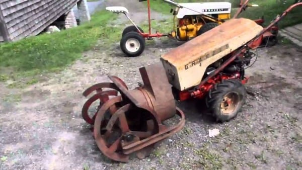 1964 Gravely Model L8 Super With Square Chute  Dog Eater  Snow