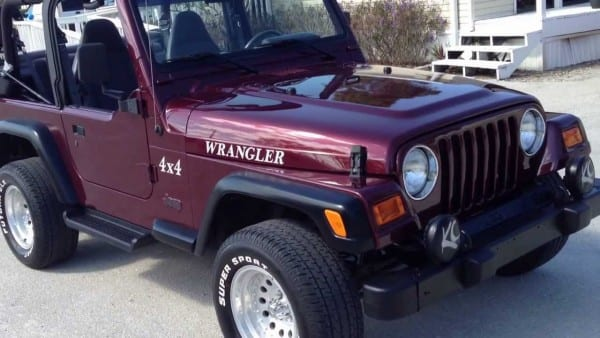 2002 Jeep Wrangler Sport 4x4