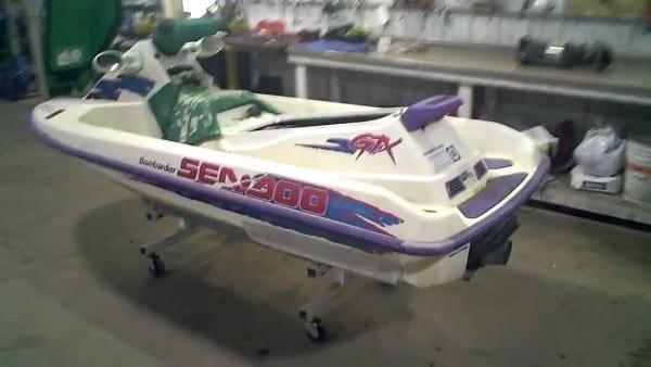 1995 Sea Doo Gtx 657x Engine Running Lot 956a