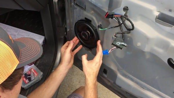 How To Change Front Door Speakers In 2006 Chevy Silverado