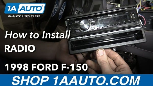 How To Install Replace Radio 1998 Ford F