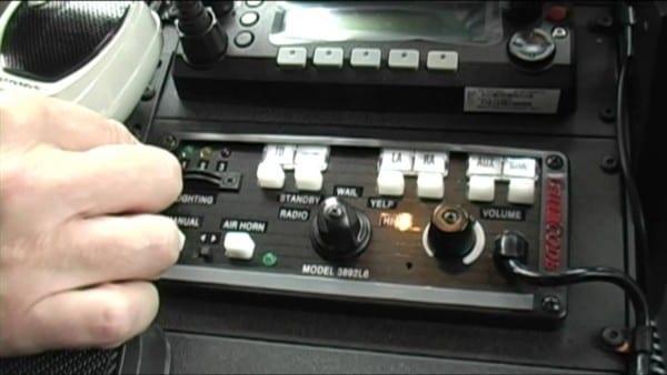 Code 3 Mastercom B Series Siren W  Light Controls