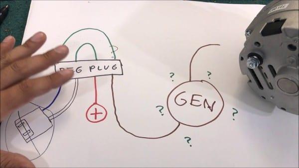 Gm 1 Wire 100 Amp Alternator Upgrade And Info Diy