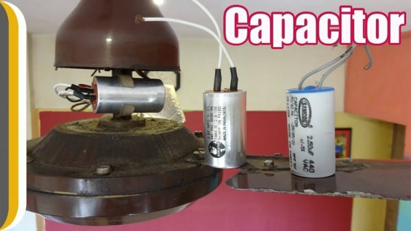 How To Change A Ceiling Fan Capacitor   By Ur Indianconsumer