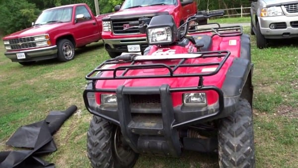 Tank!!! 2002 Honda Foreman Rubicon Toughest Atv We Have Ever