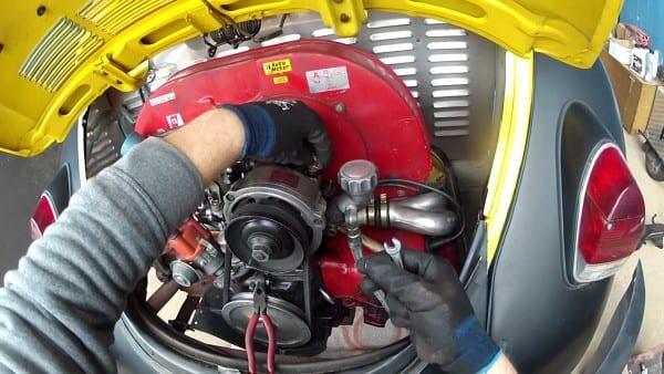 Engine Removal Vw Bug 1600