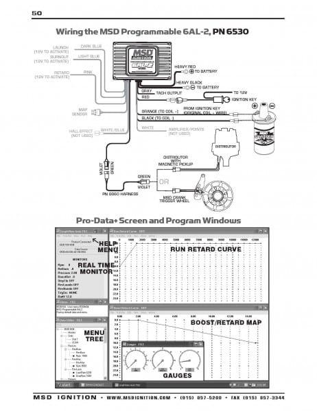 Msd 6al2 Wiring Diagram