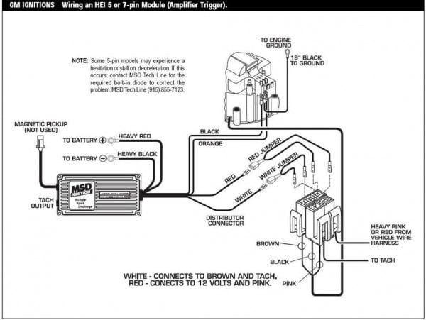 Msd 6al Wiring Diagram Chevy Great 10 Instruction Best Ignition