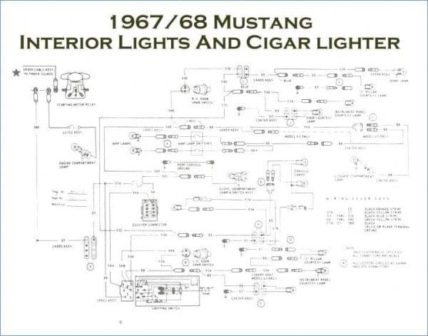 89 Mustang Horn Wiring Diagram