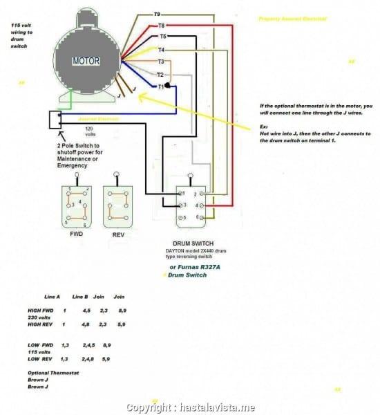 New 2 Pole 3 Phase Motor Wiring Diagram Baldor Motors Wiring
