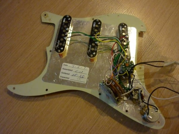 Fender Scn (samarium Cobalt Noiseless) Strat Set + S1 Switching