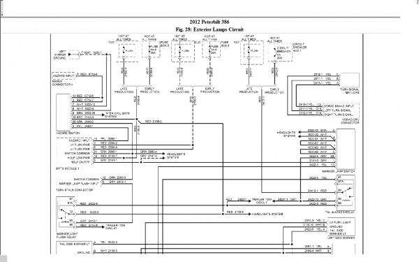 1999 Peterbilt 379 Headlight Wiring Diagram