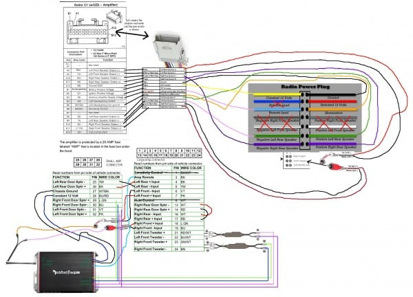 Pioneer Fh X700bt Wiring Harness Diagram