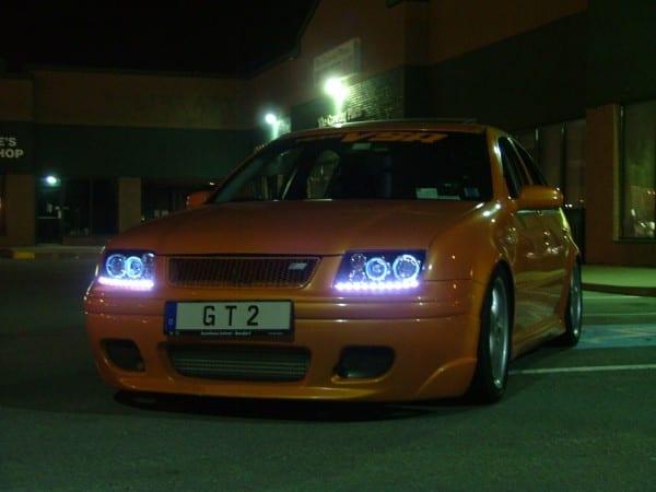 Jetta R8 Style Projector Headlights