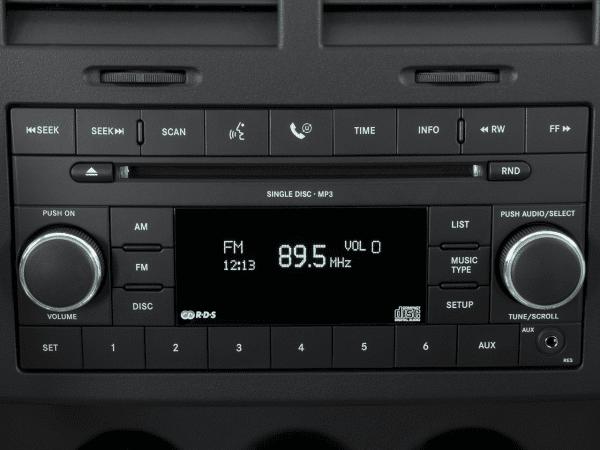 2012 Jeep Liberty Radio Interior Photo