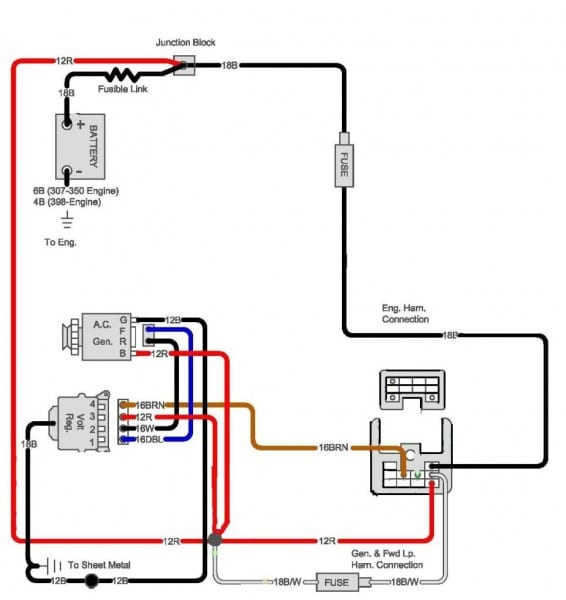 Repair Guides Wiring Diagrams Autozone Com And Chevy Alternator