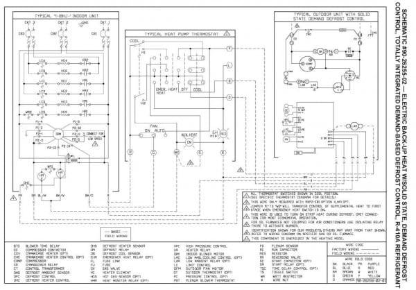 Rheem Heat Pump Wiring Diagram Pdf
