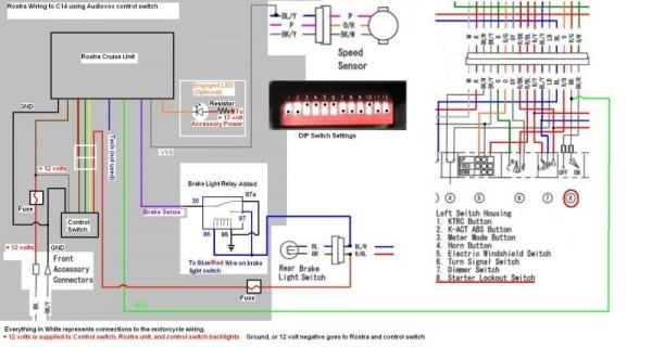 Rostra Cruise Control Wiring Diagram