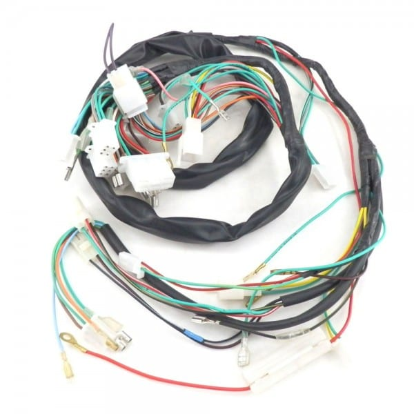 Scooter Complete Wire Harness For Znen 150t E 150cc Vintage Bms