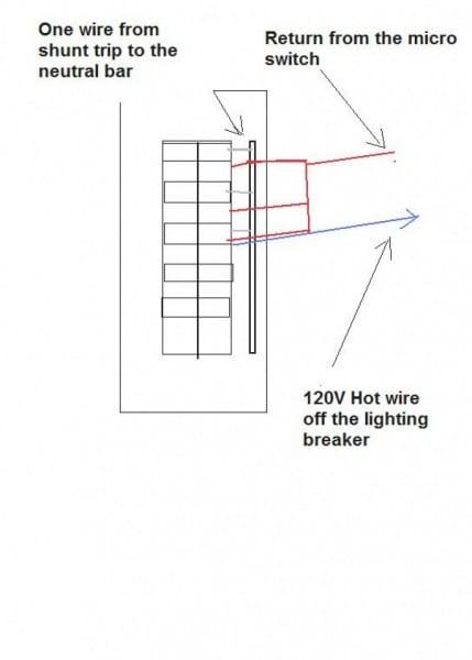 madcomics 120v shunt trip breaker wiring diagram