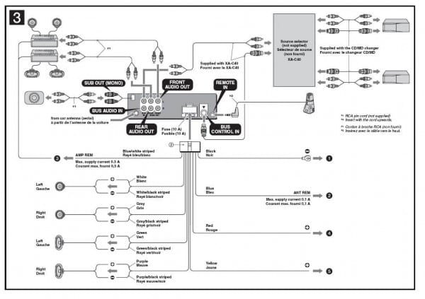 Sony Car Stereo Wiring Diagram Inspirational Wiring Harness