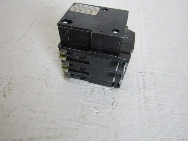 Square D Qo3451021 3 Pole 45 Amp 240 Volt Qo Shunt Trip Breaker