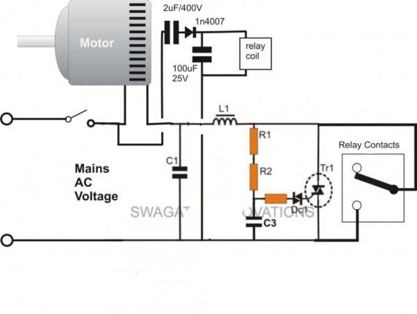 Start Run Capacitor Wiring Diagram And Kwikpik Me Motor Circuit