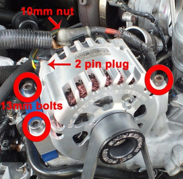 Ford F150 F250 Replace Your Alternator How To