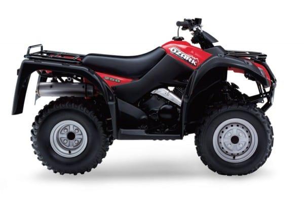 Suzuki Ozark Quadrunner 250