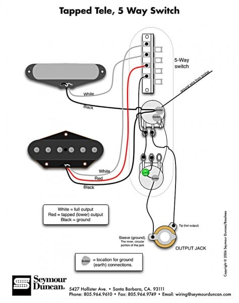 Three Cool Alternate Wiring Schemes For Telecaster®