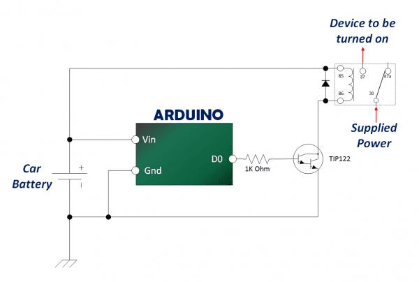 Arduino 12v Automotive Relay Tutorial