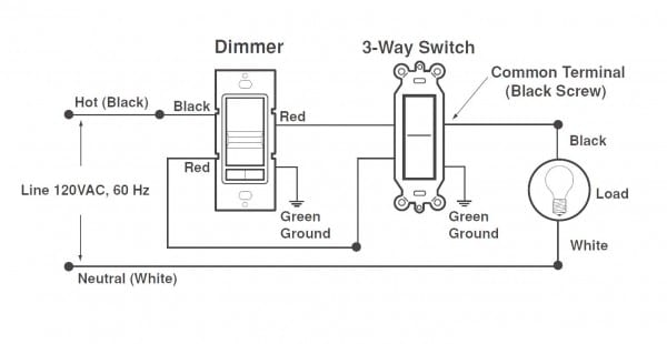 Cooper Dimmer Switch Wiring