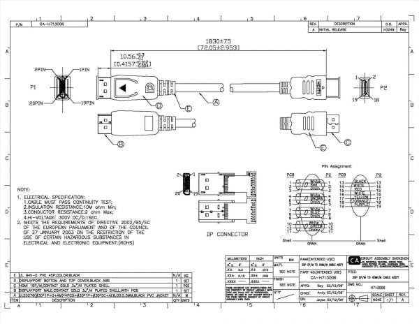 Mini Hdmi Wiring Diagram