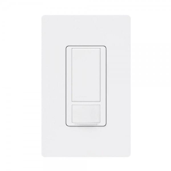 Lutron Maestro 6 Amp Dual Voltage Motion Sensor Switch, Single